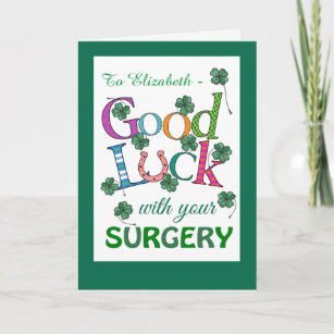 Surgery Good Luck Gifts Cards Zazzle Au