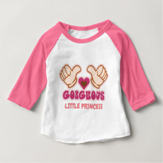 Custom gorgeous girl baby T-Shirt