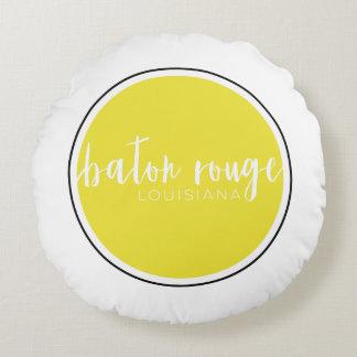 "Custom Grade A Cotton Round Throw Pillow (16"")"