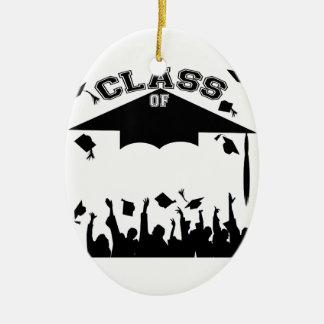 Custom Graduation Ceramic Oval Decoration