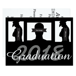 Custom Graduation Invite Card with Pictures