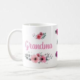 "Custom ""Grandma"" Mug with Grandchildrens' Names"