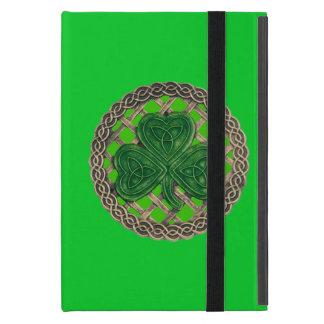 Custom Green Shamrock Celtic Knots iPad Mini Case
