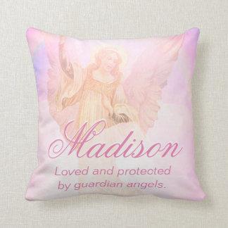 Custom Guardian Angel Add Name Cushion