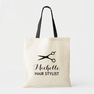Custom hairdresser tote bags for hairstylist