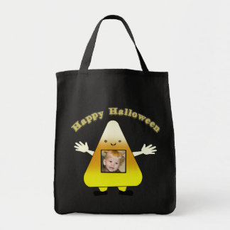 Custom Halloween Trick or Treat Candy Corn Bag