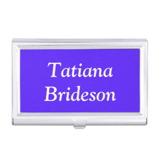 Custom Han Purple High End Color Coordinating Business Card Cases