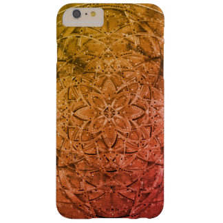 custom hand drawn mandala art for your Iphone Barely There iPhone 6 Plus Case