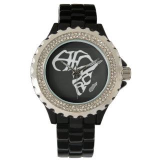 "Custom Handwatch ""Africa Time"" Watch"