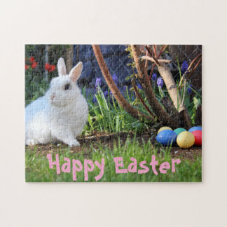 "Custom Happy Easter Puzzle 11"" x 14"", 252 Piece"