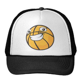 Custom Happy Smiling Basketball Trucker Hats