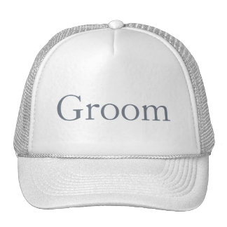 Custom Hat for the Groom, Groomsmen or Father Mesh Hats