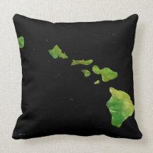 Custom Hawaiian Chain Throw Pillow