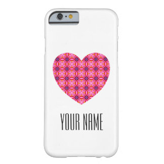 Custom Heart Case-Mate Barely There iPhone 6 Case