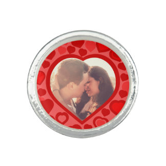Custom hearted picture border