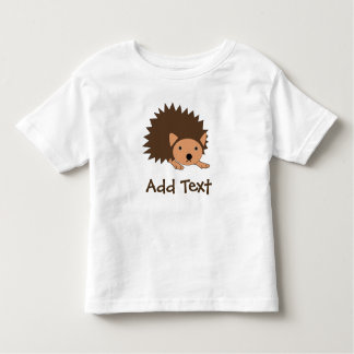 Custom Hedgehog Kids Top