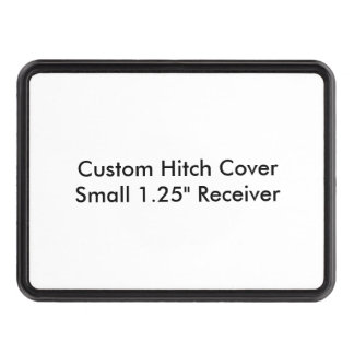 Custom Hitch Cover Small 1 25 Receiver