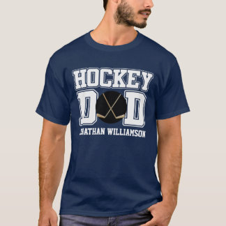 Custom Hockey Dad T-Shirt