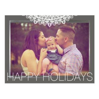 Custom Holiday Card Family Design