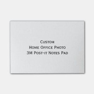 Custom Home Office Photo 3M ToDo Post-it Notes Pad