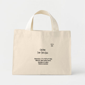 Custom Home Tote Bags