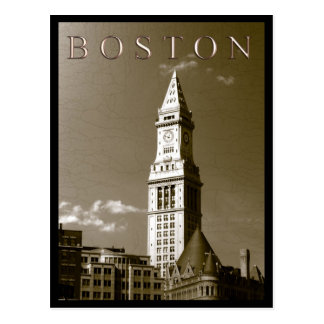 Custom House Clock Tower Postcard