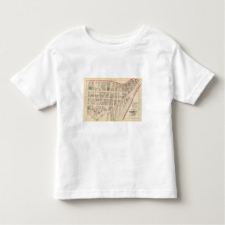 Custom House Narragansett Hotel Company Atlas Map Toddler T-Shirt