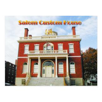 Custom House, Salem, Massachusetts Postcard