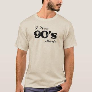 Custom I Love (Year) Music T-Shirt