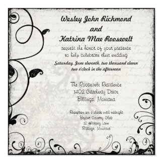 Custom I Love You Wedding Invitation