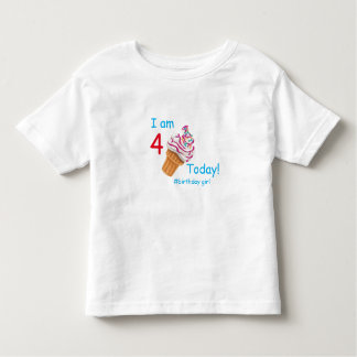 Custom Ice Cream Child's Birthday Tee