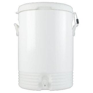 Custom Igloo Beverage Cooler - Ten Gallon