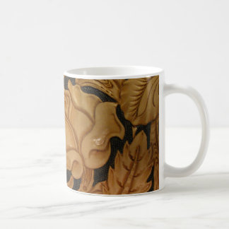 Custom image of tooled leather mugs