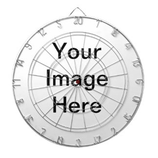 Custom Image or Text Dartboard