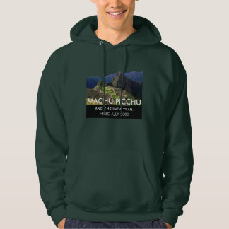Custom Inca Trail, Machu Picchu Commemorative Hoodie