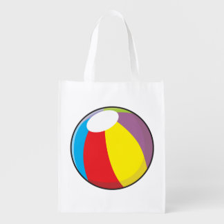 Custom Inflatable Plastic Beach Ball Mugs Buttons Reusable Grocery Bag