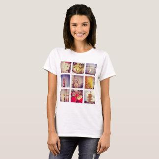 Custom Instagram Photo Collage Basic T-Shirt