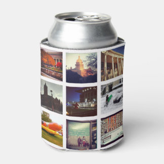 Custom Instagram Photo Collage Can Cooler
