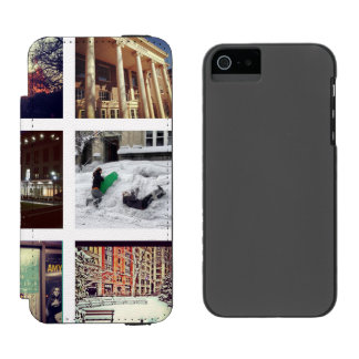 Custom Instagram Photo Collage Incipio Watson™ iPhone 5 Wallet Case