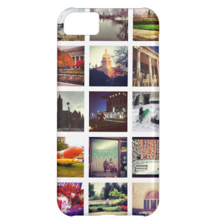 Custom Instagram Photo Collage iPhone 5C Case