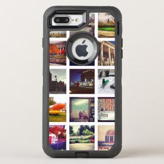 Custom Instagram Photo Collage OtterBox Defender iPhone 8 Plus/7 Plus Case