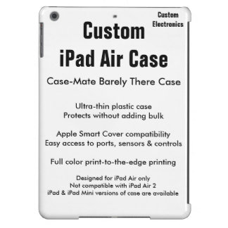 Custom iPad Air Case - Case-Mate Barely There