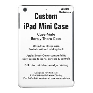 Custom iPad Mini Case - Case-Mate Barely There