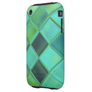 Custom iPhone 3 Turquoise Argyle Case iPhone 3 Tough Covers