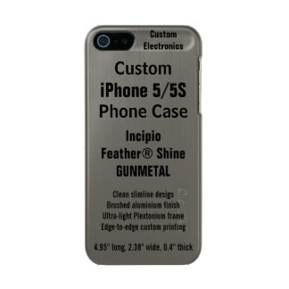 Custom iPhone 5 / 5S FEATHER® SHINE Phone Case Incipio Feather® Shine iPhone 5 Case