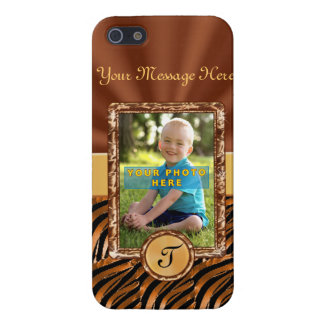 Custom iPhone 5S Cases Photo, Monogram & Your Text