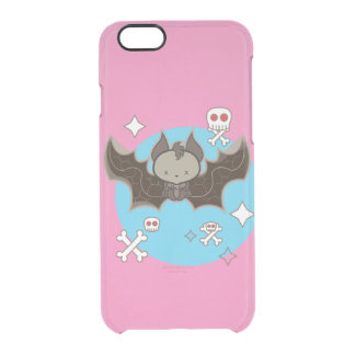 Custom iPhone 6 Clearly™ Deflector Case with bat