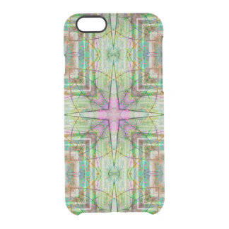 Custom iPhone 6 Clearly™ Deflector - Star Flower Clear iPhone 6/6S Case