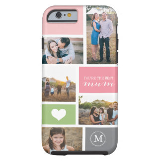 Custom iPhone 6 Mother's Day Photo Collage Tough iPhone 6 Case