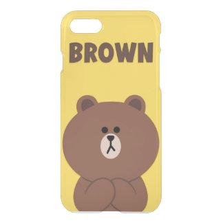 Custom iPhone 7 case Brown bear